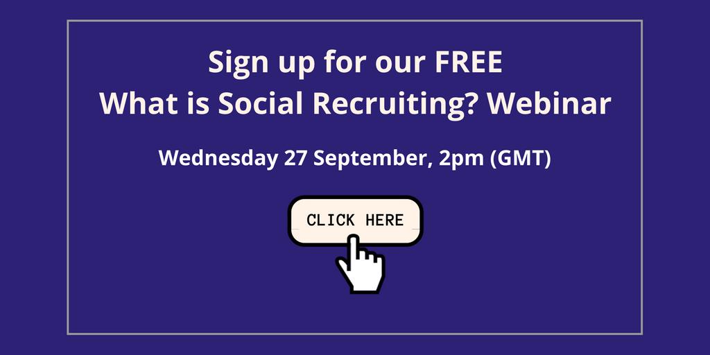 What is social recruiting webinar