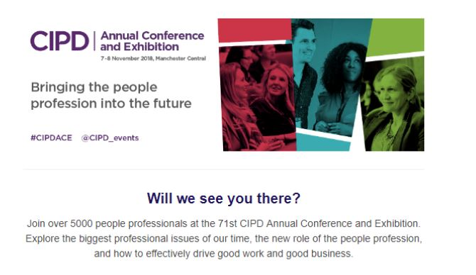 71st CIPD Annual Conference and Exhibition