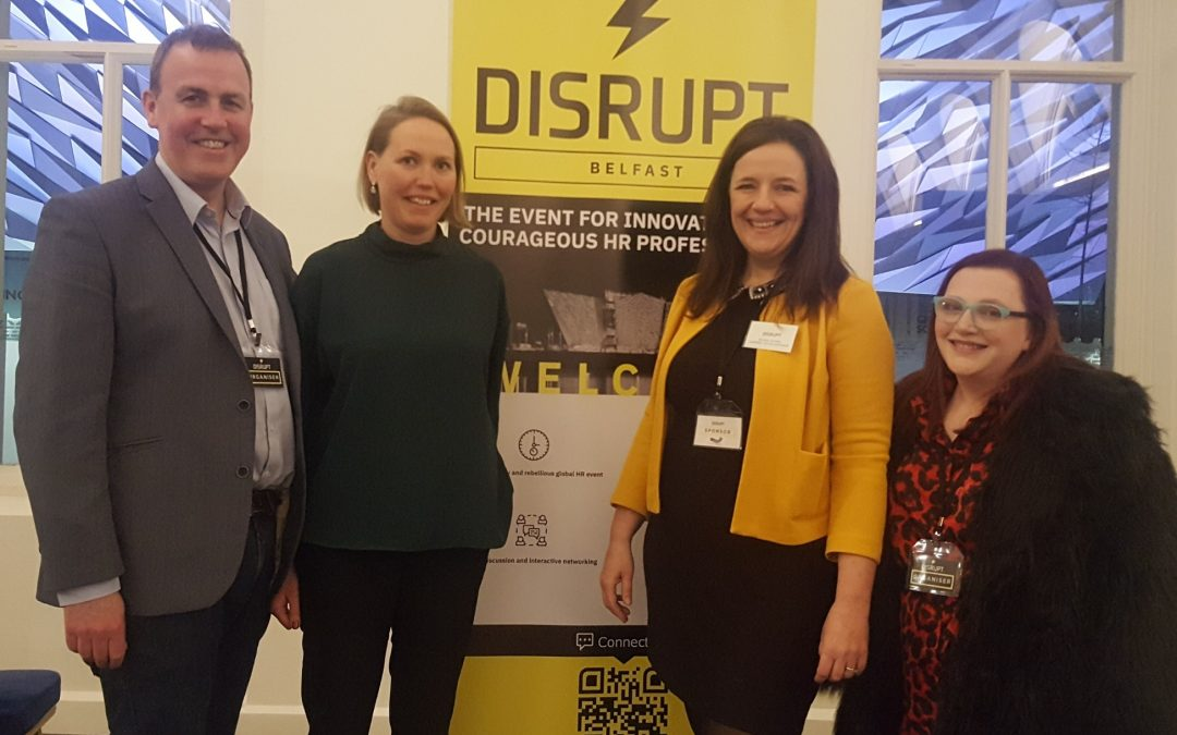 DisruptHR has 'landed'​ in Belfast